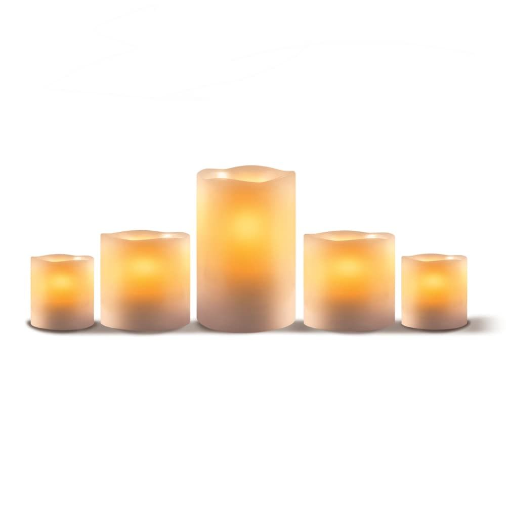 Apothecary flameless led candle piece set products pinterest