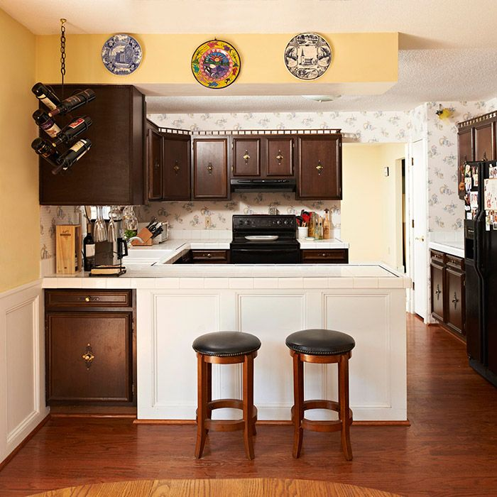 refined and roomy kitchen makeover kitchen remodel on kitchens that ll make you want to redo yours id=71860