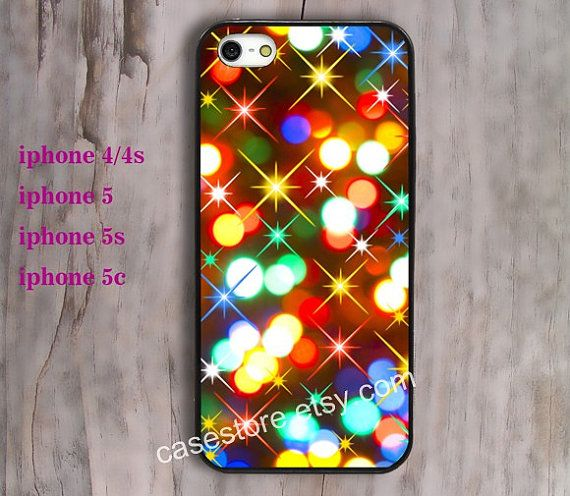 Merry Christmas iphone 5s caseiphone 5c case Color by charmcover, $7.99