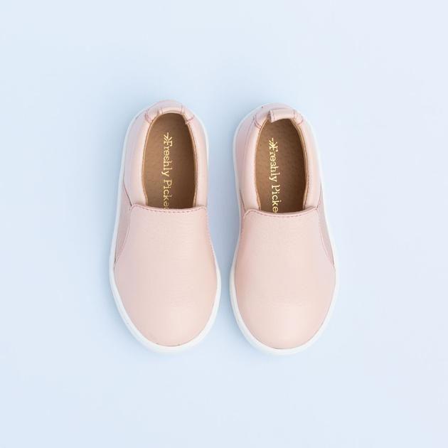 79e7d08107b5 Blush Slip on sneaker - Freshly Picked