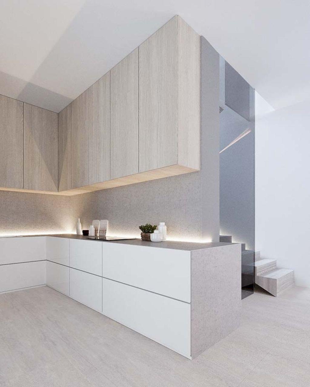 Attraktiv Gorgeous 35 Modern Minimalist Kitchen Remodel Ideas Https://homeylife.com/35