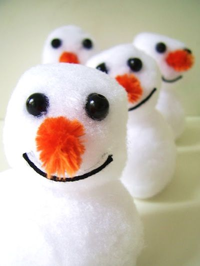 Easy Snowman Craft For Kids Kids Winter Pinterest Snowman