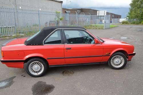 Rare 1989 E30 325i Baur Tc2 Cabriolet For Sale Cabriolets E30