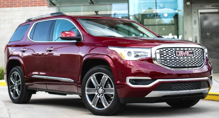 2019 Gmc Acadia Interior Exterior And Price