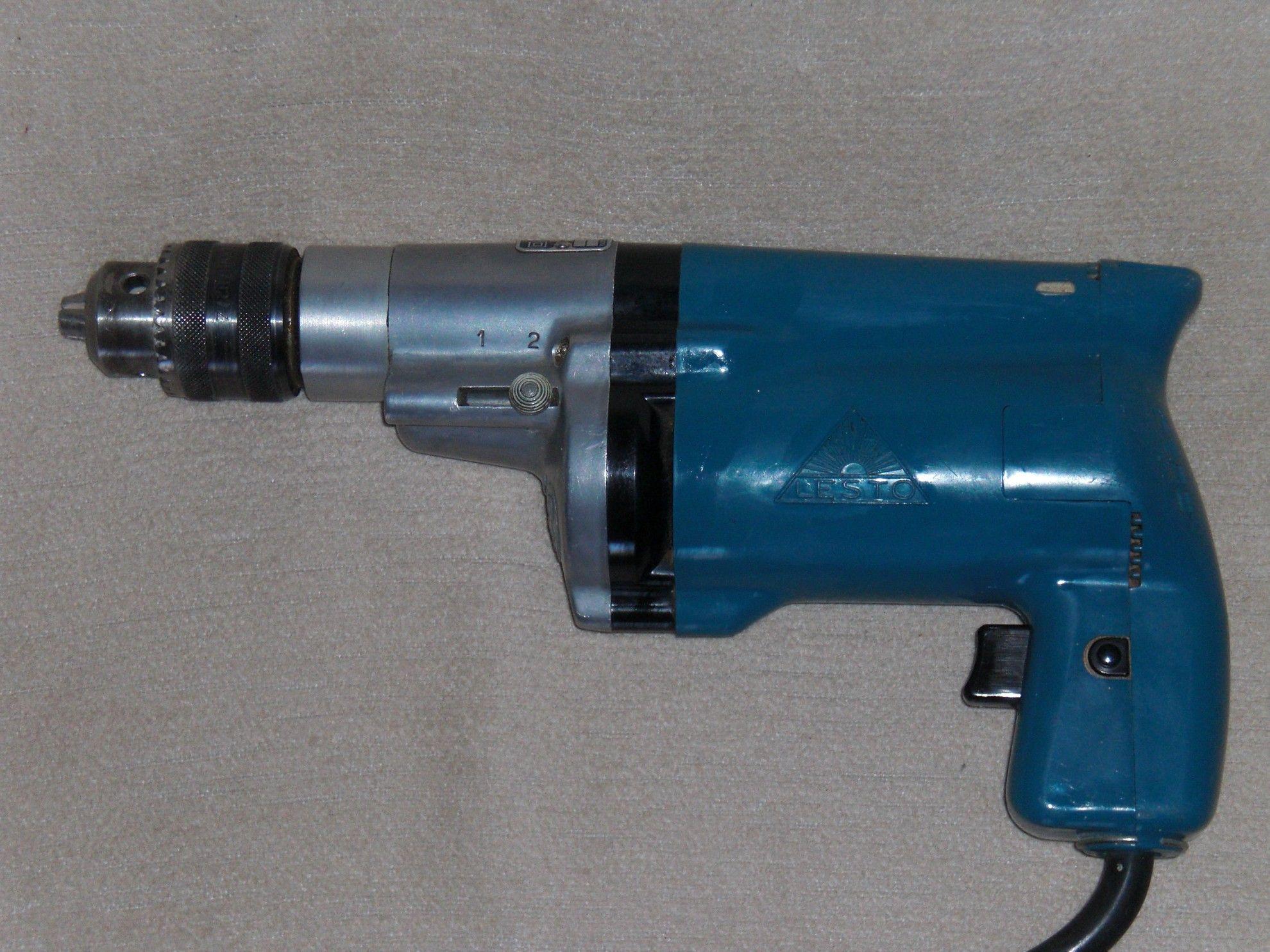 Alte Bohrmaschine LESTO Scintilla 280W drilling machine   muss es ...