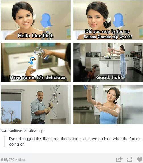 Selena Gomez Tap Water? - FunSubstance