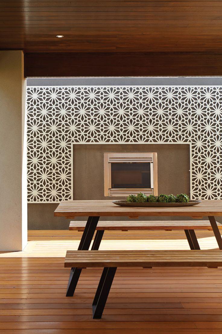 Outdoor designs u ideas metricon wall pinterest screens