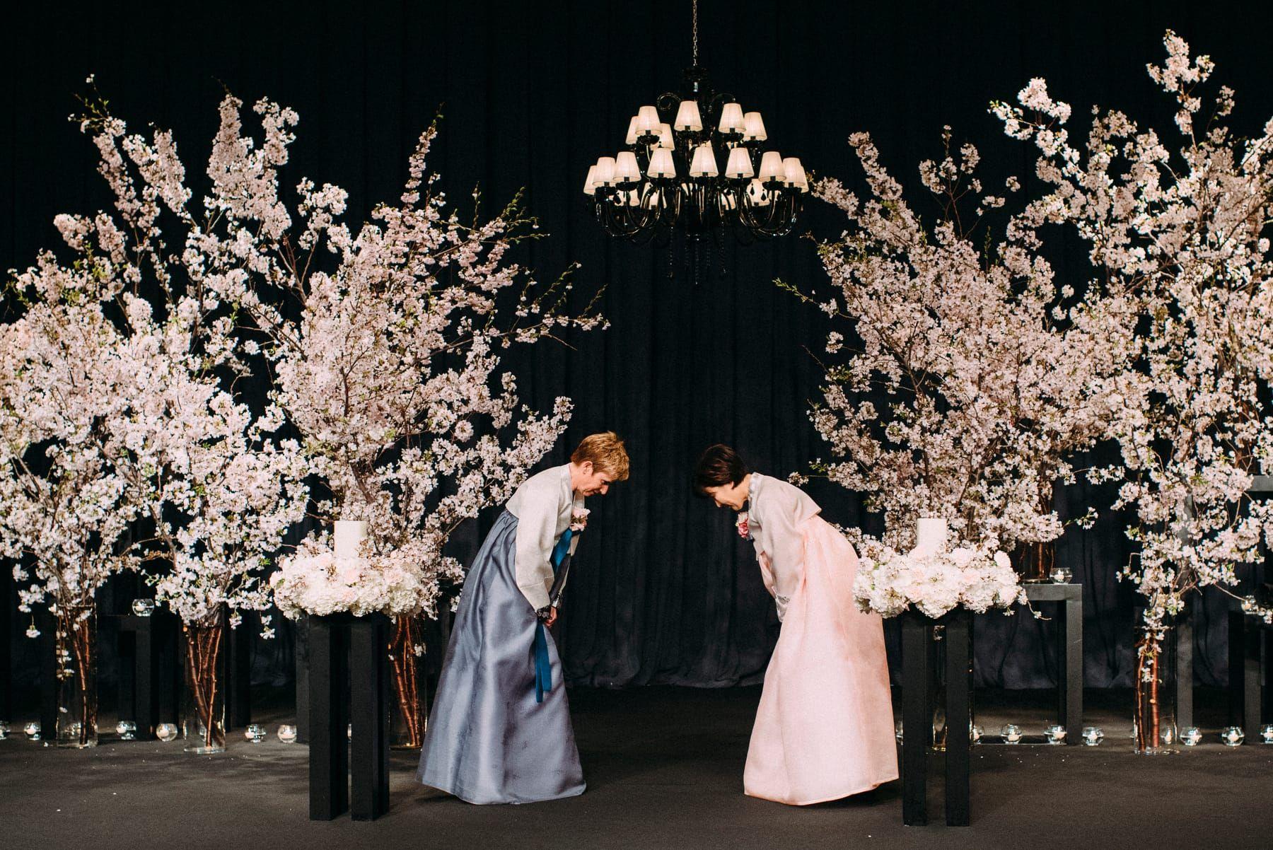 Korean Wedding At Grand Hyatt Hotel In Seoul Wedding Decoration