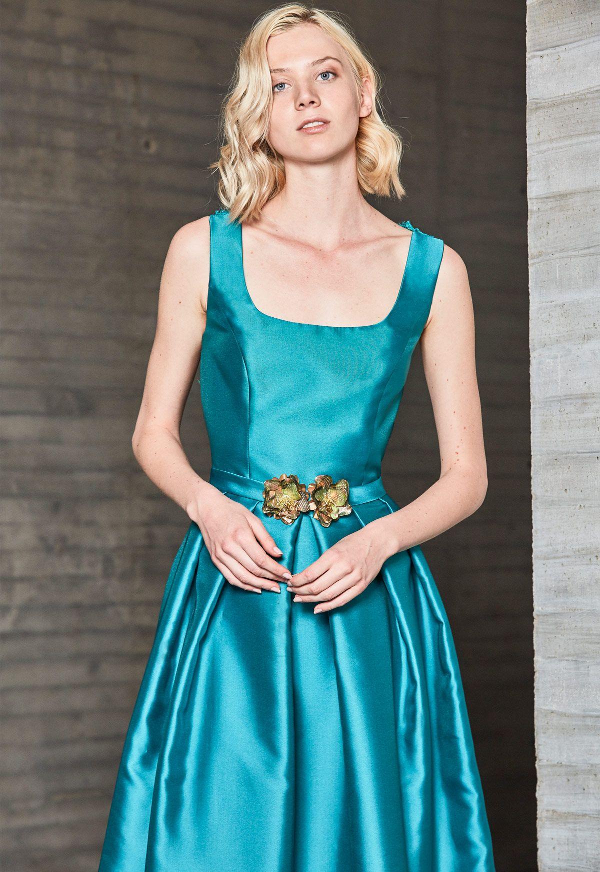 Vestido de fiesta Ana Torres colección 2018 modelo 17092A. Eva ...