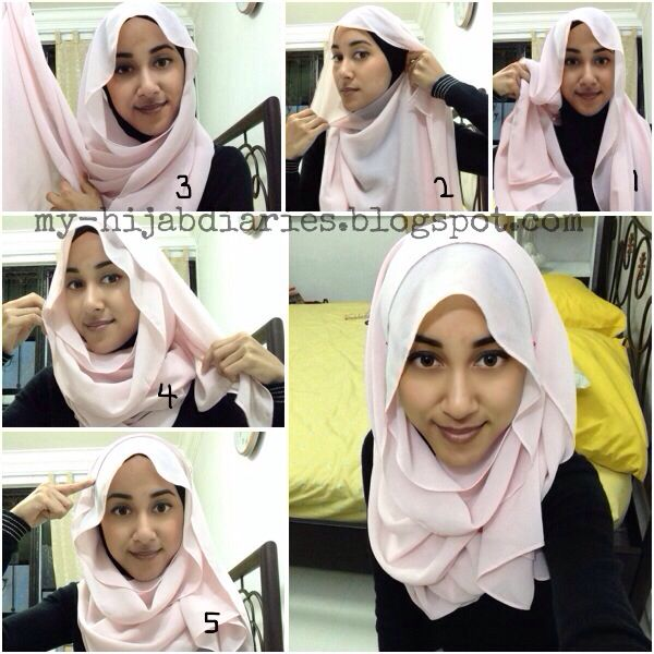 Hijab Tutorial Hijabtutorial Simple Hijab Tutorial Step By Step Hijab Hijabi Hijabfashion