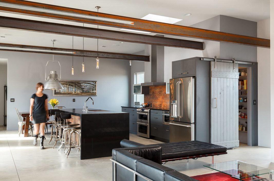 Urban Loft Kitchen Interior Design Ideas. Best Industrial Unique ...