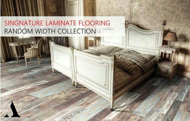 Signature Laminate Flooring Random Width Collection Arkmate
