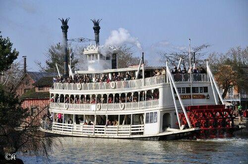 Le bateau roue de la nouvelle orl ans sur le mississippi - Bateau sur roues ...