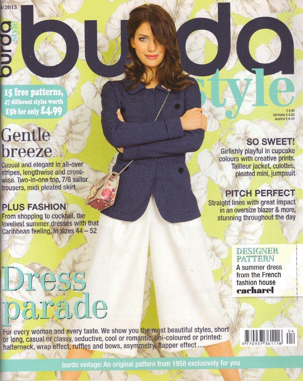 Burda style magazine 42015 english sewing patterns by burda style magazine 42015 english sewing patterns by honeyjamsuniques on etsy jeuxipadfo Image collections