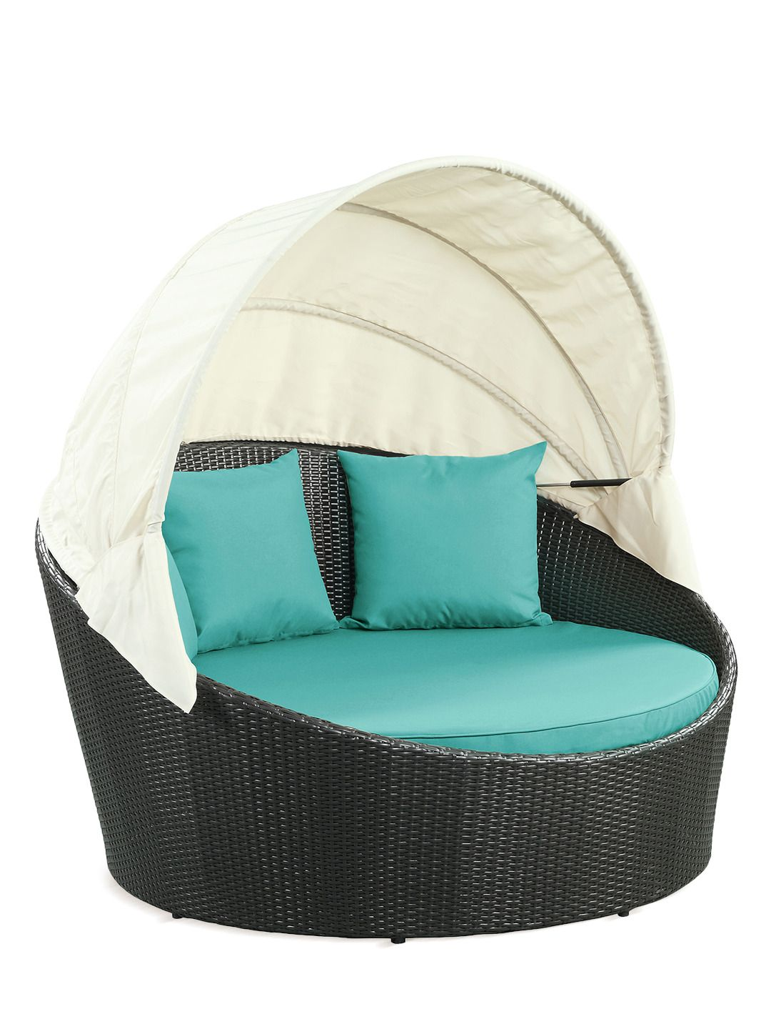 Pearl Daybed Outdoor Canan Outdoor Rattan Canopy Bed More Colors By Pearl River