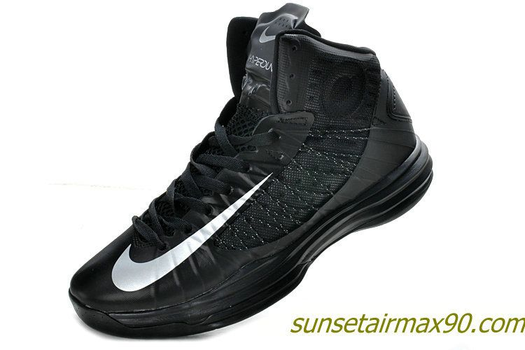 Nike Lunar Hyperdunk X Black Metallic Silver 524934 001
