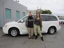 Jamie - 2010 Chrysler Town & Country Touring  Congrats to Jamie and family from Reading, PA!