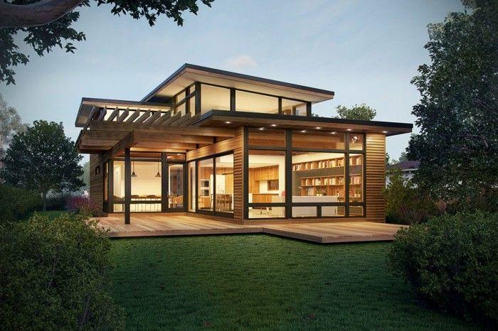 Fertighaus Moderne Architektur Und Umweltliches Denken