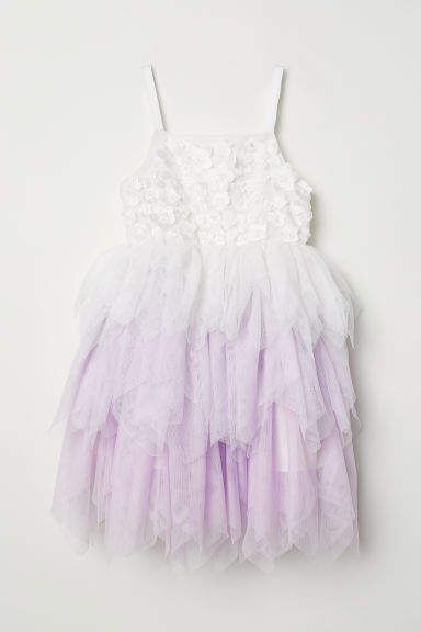 6336e2e27c0  34.99 marked down from  49.99! H M - Tulle Dress - White  girls  dress   ombre