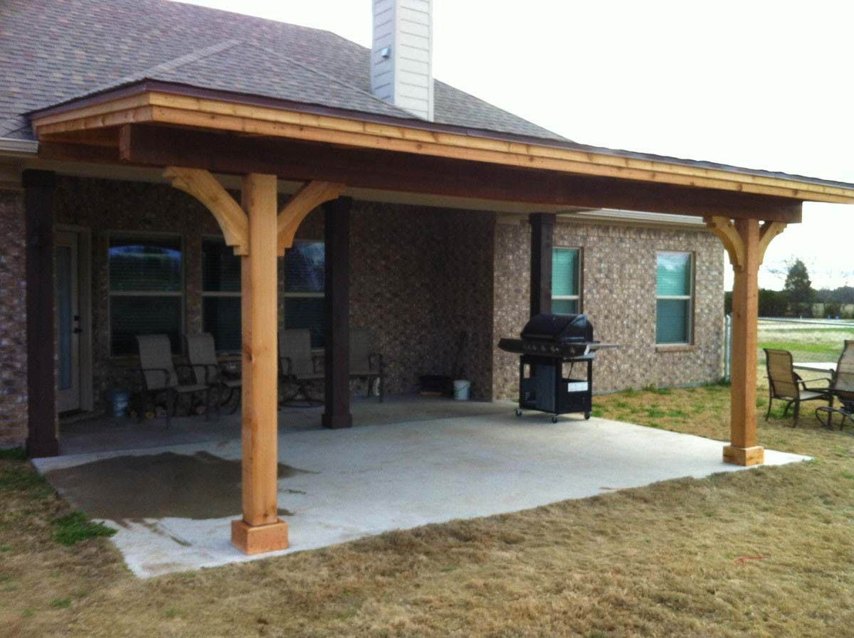 Best 5 Ideas For Covering Your Deck Backyard Patio Covered Patio Design Pergola
