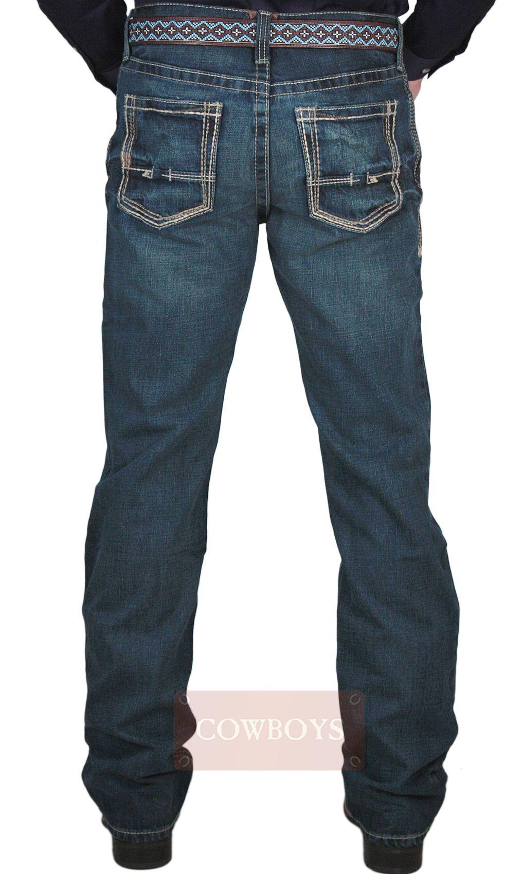 74302f0b7 Calça Jeans Masculina Ariat Relaxed Low Rise Fashion Boot Cut Calça  Masculina importada da marca Ariat. Jeans 100% algodão cor azul Stonado.