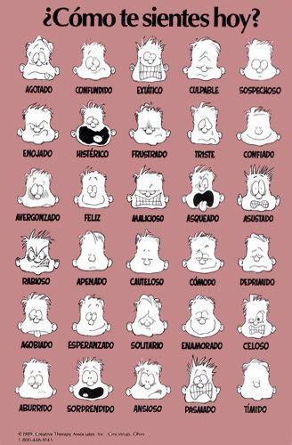 feelings poster in spanish carlex online store todo en espanol learning spanish spanish. Black Bedroom Furniture Sets. Home Design Ideas