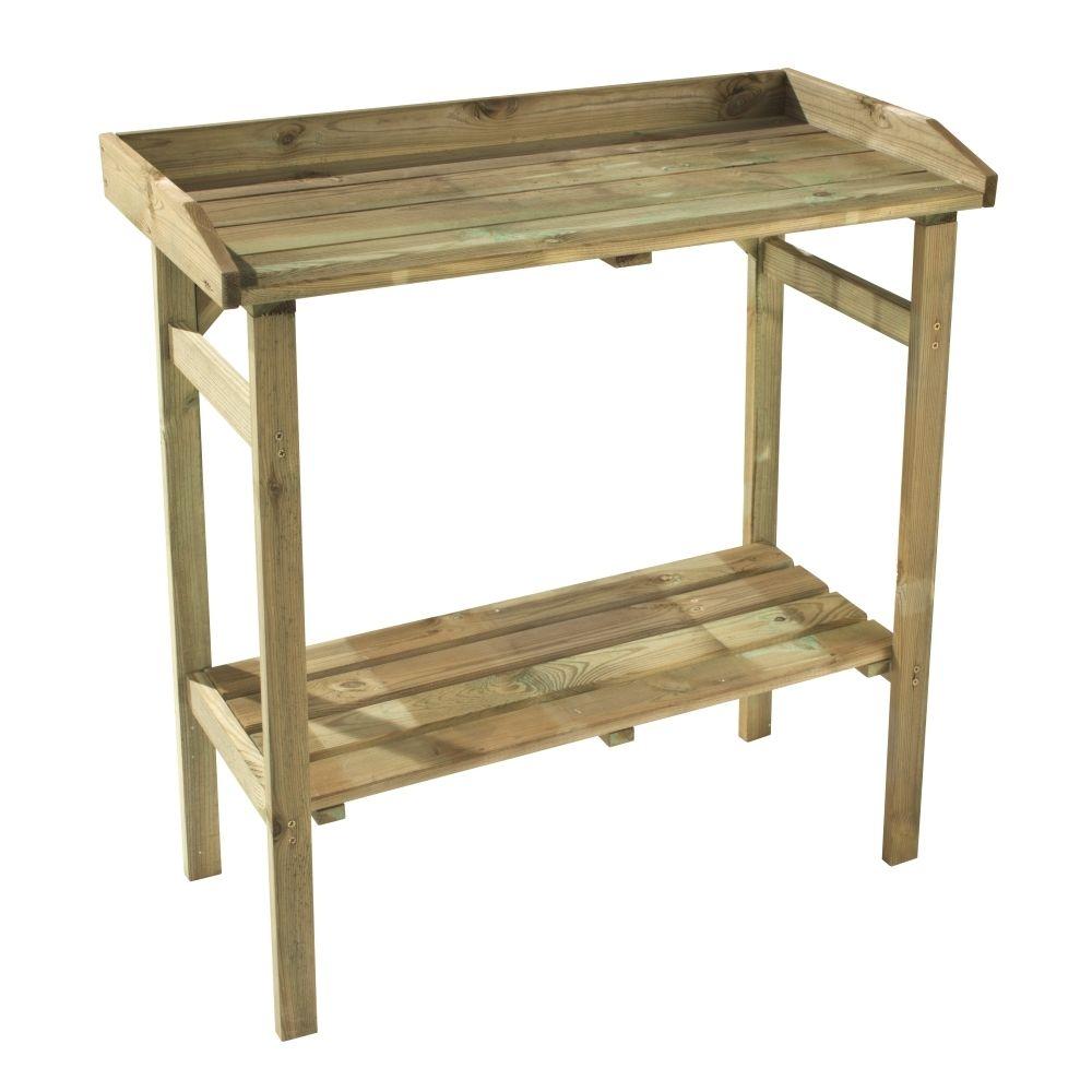 Table De Rempotage L 80 X L 40 X H 85 Cm Truffaut Pace 27 Amenagement Jardin Table Castorama