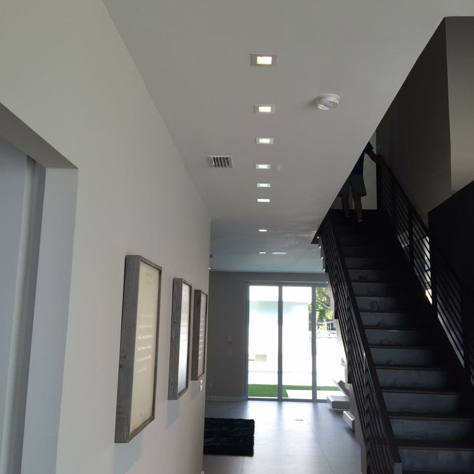 Led Recessed Lighting Old Work : Forget the old round recessed cans square