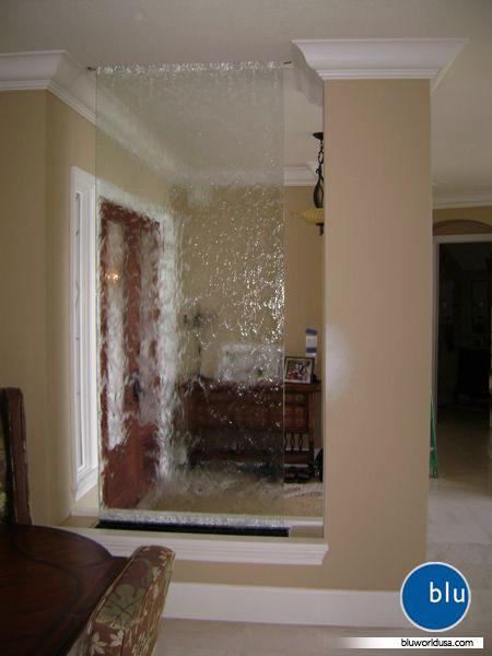 Diy Indoor Water Garden: Indoor Water Wall At Private Residence