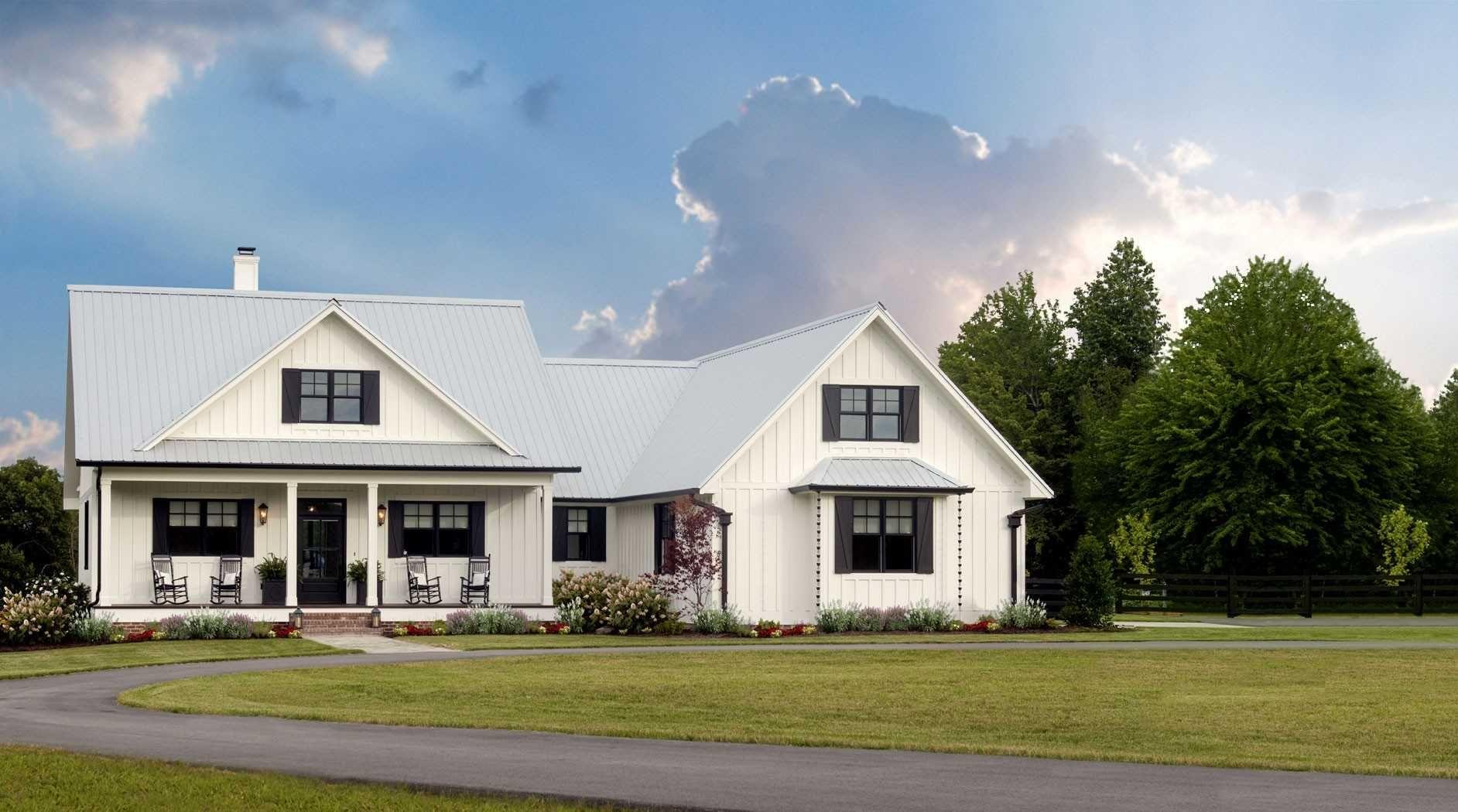Single Story Modern Farmhouse Open Floor Plans Inspirational 11 Unique Single Story Far Modern Farmhouse Plans House Plans Farmhouse Modern Farmhouse Floorplan