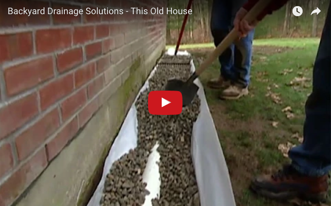 Having Standing Water Or Flooding Issues In Your Yard Watch Our Variety Of Videos Today To Learn How Nds Can Hel Drainage Solutions Backyard Drainage Drainage