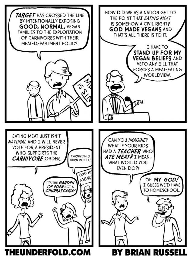 The meat agenda! Political  Religious Commentary Pinterest
