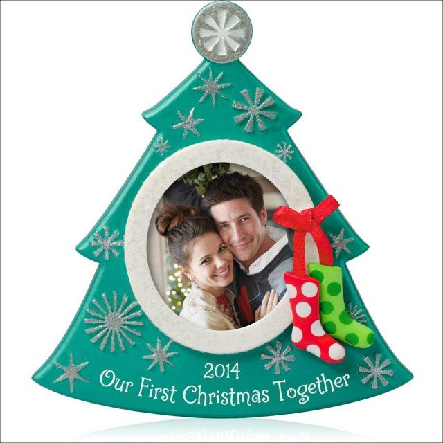 Attractive First Christmas Ornaments 2014 Part - 3: Our First Christmas 2013 Ornament