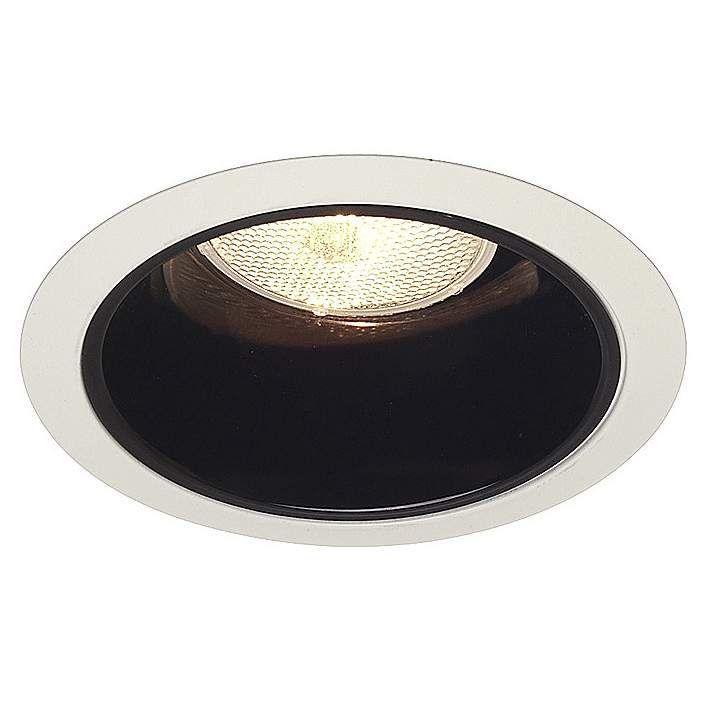 Juno 6 line voltage black alzak recessed light trim recessed juno 6 line voltage black alzak recessed light trim 28179 lamps plus aloadofball Image collections