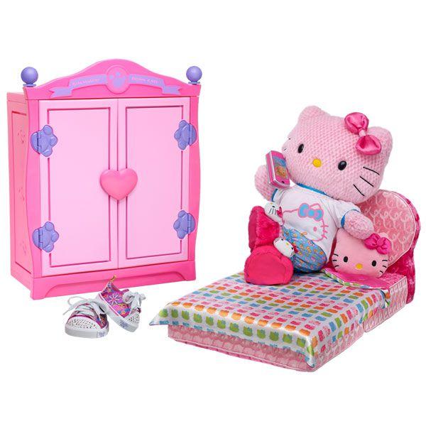 Hello Kitty Build A Bear Clothes Sleepover Pink Hello Kitty By Sanrio Build A Bear Workshop Us Hello Kitty Toys Build A Bear Bedroom For Girls Kids