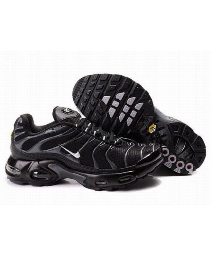 9a178ace180 Mens Nike Air Max TN Black Grey Trainer