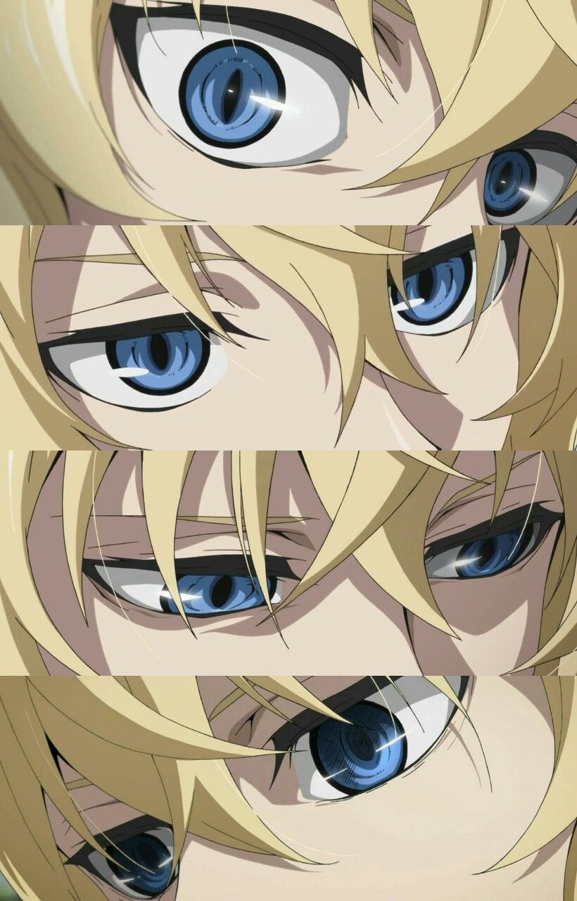 Mika's eyes They're Beautiful Anime eyes, Mikaela
