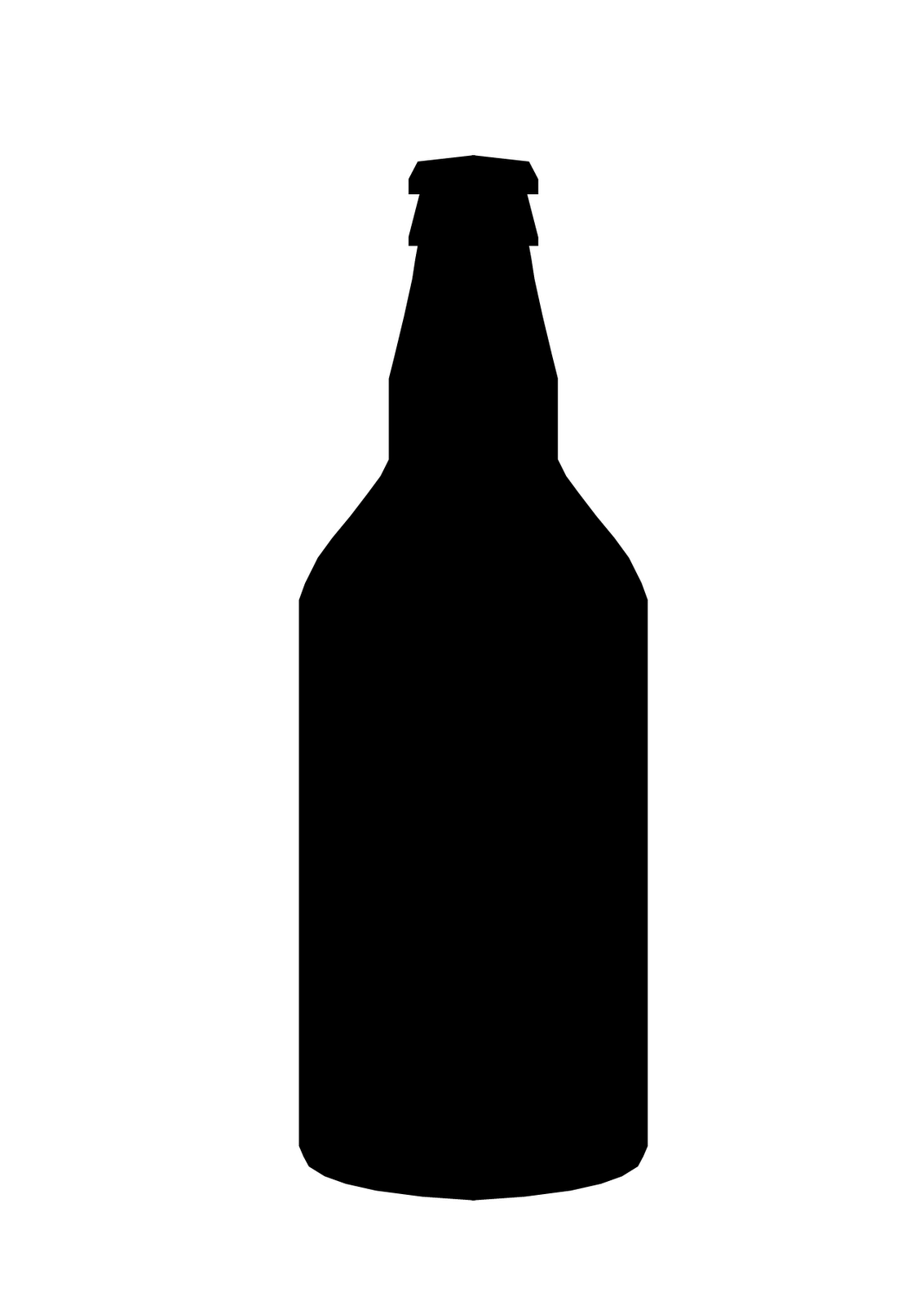 Beer Bottle Silhouette Google Search Bottle Beer Bottle Beer