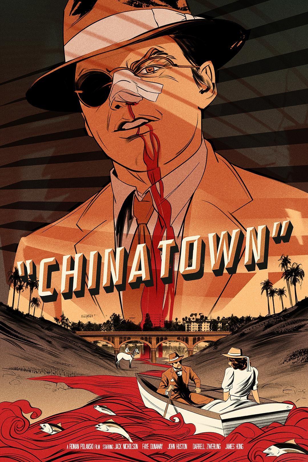 Chinatown 1974 1080 X 1620 Movie Poster Art Movie Artwork Movie Posters