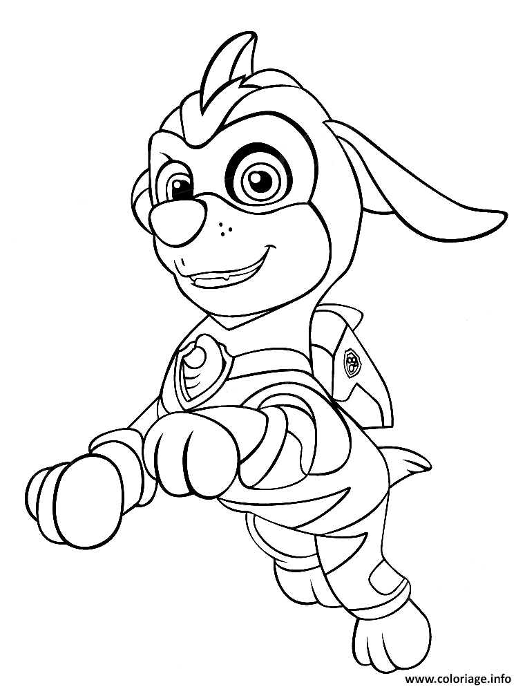 Coloriage Mighty Pups Zuma A Imprimer Paw Patrol Coloring Paw Patrol Coloring Pages Zuma Paw Patrol