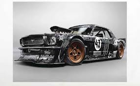 Ford Mustang Hoonigan Ken Block 4wd Muscle Car Poster A1 841x594mm Amazon Co Uk Kitchen Home Car Wallpaper For Mobile Sports Car Vintage Car Birthday