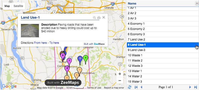 ZeeMaps in Education Example | ⤷Class Tech⤵ | Pinterest | Map