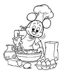 kleurplaat koken en bakken zoeken kleurplaten