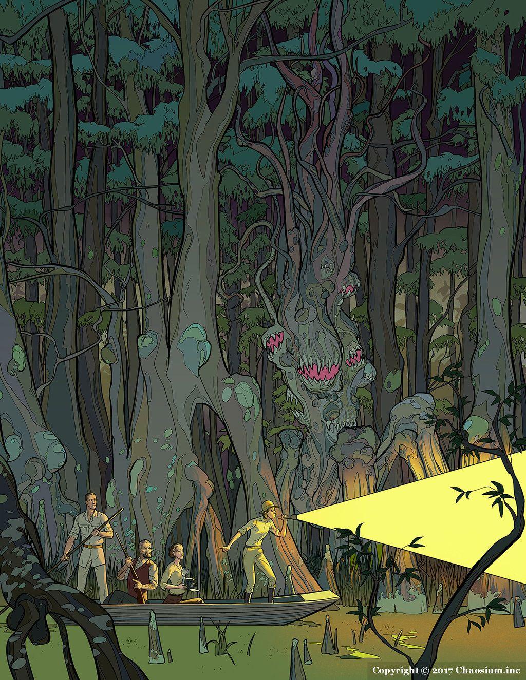 The Dark Young Of Shub Niggurath By Theoctistus Lovecraftian Horror Cthulhu Mythos Eldritch Horror
