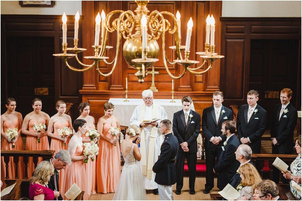Wedding At Wren Chapel