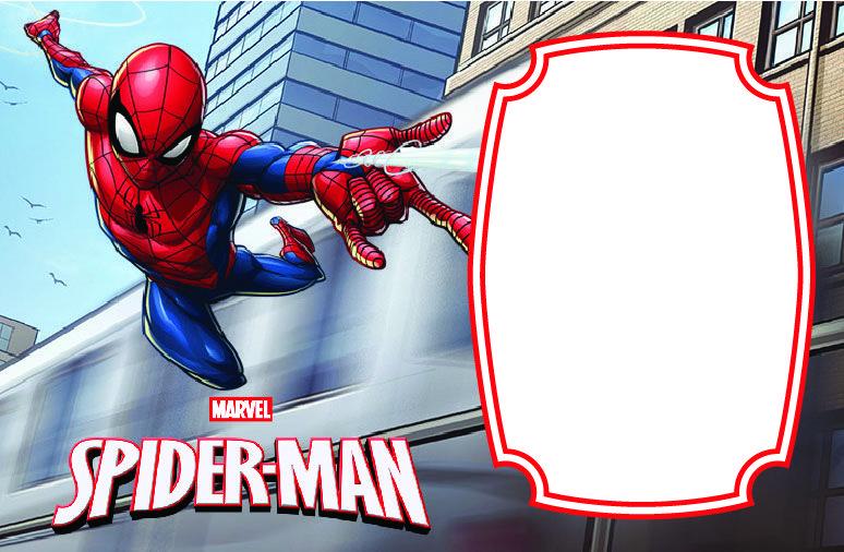 spiderman birthday invitations