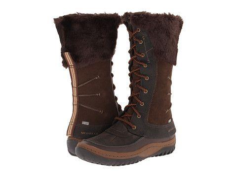 Merrell Ladies Decora Prelude Boot Mocha