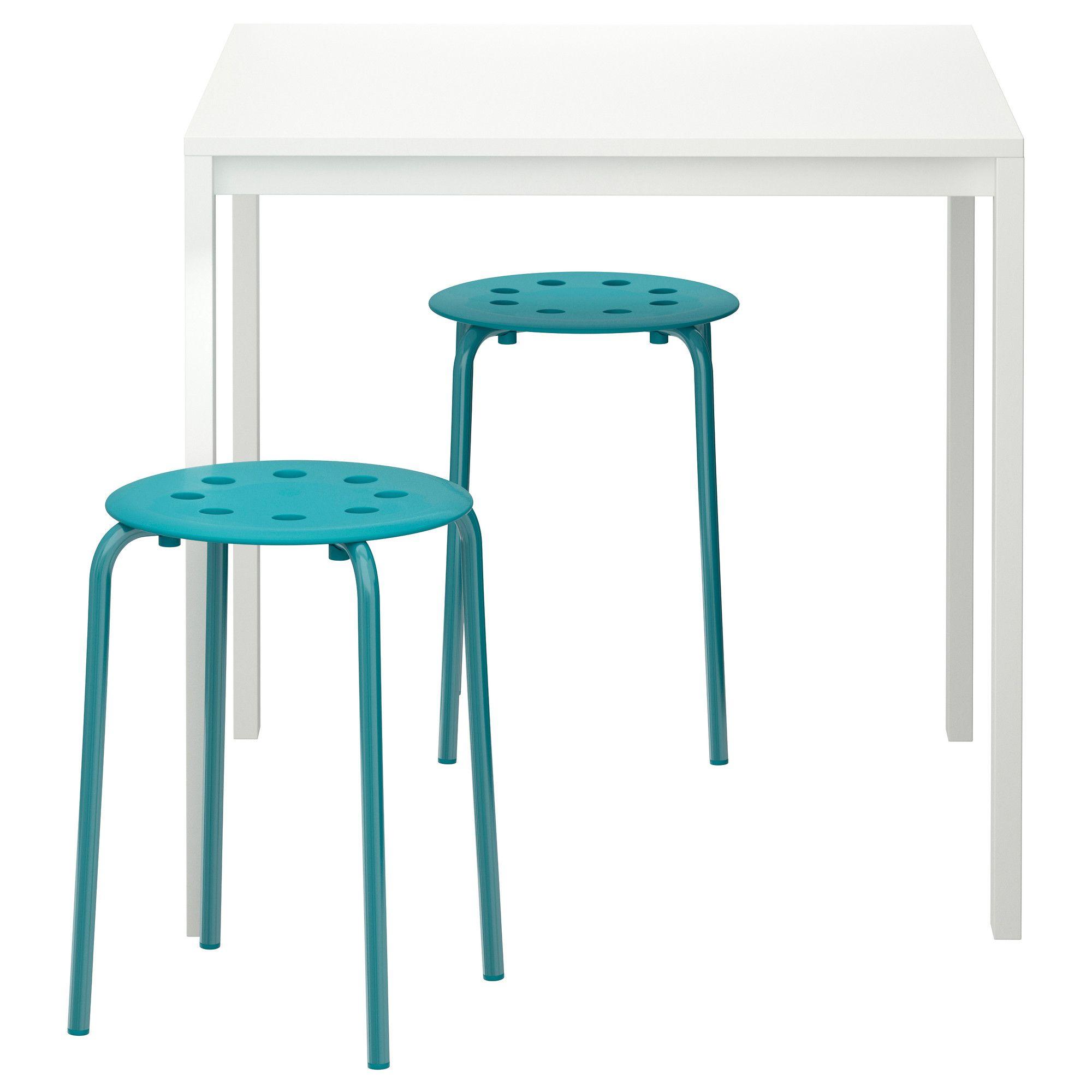 MELLTORP/MARIUS Table and 2 stools - IKEA | IKEA MARIUS stool ...