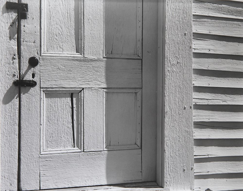 Edward Weston - Church Door, 1940.