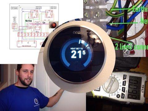 Nest Thermostat Wiring Youtube Nest Thermostat Nest Thermostat Wiring